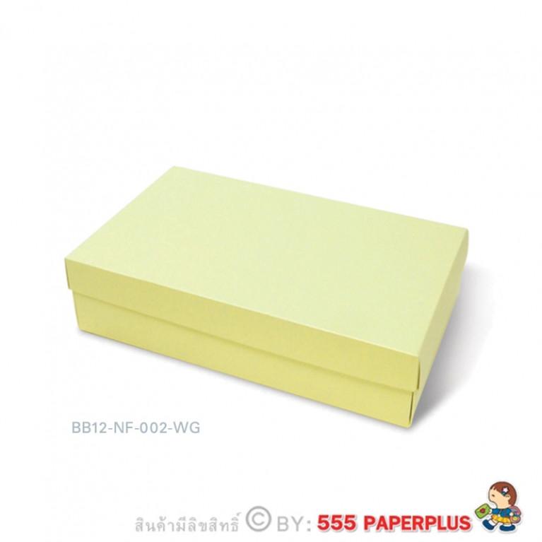 BB12-NF-002-WG กล่องของขวัญเมทัลลิค (10กล่องไม่พับขึ้นรูป)