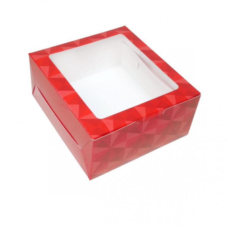 BK18W-009 กล่อง Snack 12.7x14x6.3 ซม. (20กล่อง) มีหน้าต่าง
